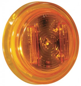 46143 – SuperNova® 2 1/2″ Clearance Marker LED Light, PC Rated, Yellow