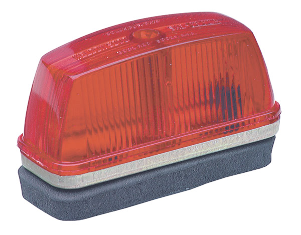 Grote Industries - 46332 – School Bus Rectangular Marker Light, Red