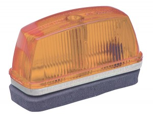 46333 – School Bus Rectangular Marker Light, Yellow