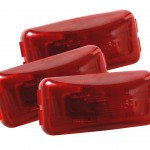 3 clearance marker light red bulk