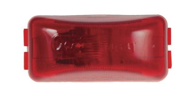 46412 – 3″ Clearance Marker Light, 12V, Red