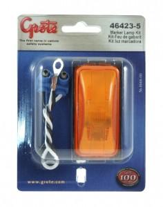 46423-5 – 3″ Clearance Marker Light, Yellow Kit (43980 + 67050)