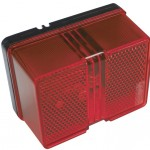 Larger Red Clearance Marker Square Light