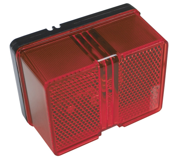 46442-5 – Large Square Clearance Marker Light, Red, Retail Pack