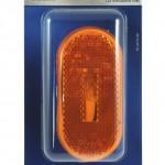 single bulb oval clearance marker light yellow reflector bulk