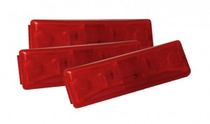 46742-3 – Clearance Marker Lights, Red, Bulk Pack