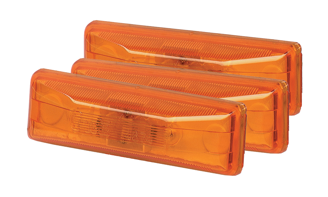 Grote Industries - 46743-3 – Clearance Marker Lights, Yellow, Bulk Pack
