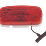 fruehauf speical clearance marker light red