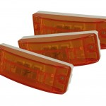 sealed turtleback ii clearance marker light optic yellow bulk