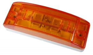 46833 – Sealed Turtleback® II Clearance Marker Light, Optic Lens, Yellow