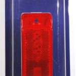Sealed Turtleback® II Clearance/Marker Light, Built-In Reflector, Red, Retail Pack