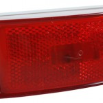 Sealed Turtleback® II Clearance/Marker Light, Built-In Reflector