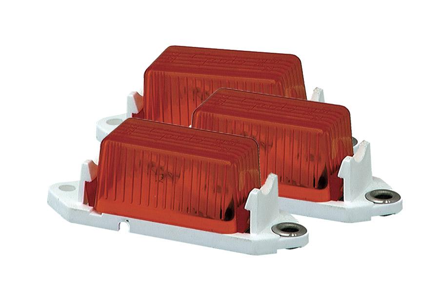 46882-3 – Economy Clearance Marker Lights, Red, Bulk Pack