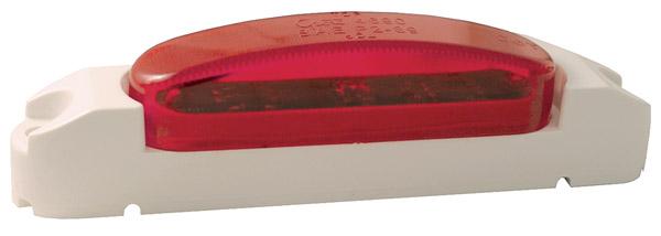 46902 – SuperNova® Thin-Line LED Clearance Marker Light, Red Lens, White Body