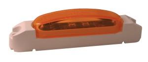 46903 – SuperNova® Thin-Line LED Clearance Marker Light, Yellow Lens, White Body