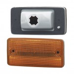 flush mount cab marker light yellow