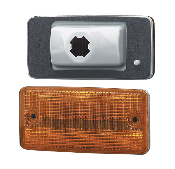 Grote Industries - 46913 – Flush-Mount Cab Marker Light, Yellow