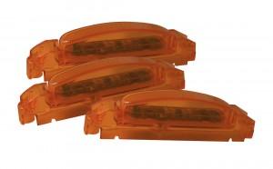 46933-3 – SuperNova® Thin-Line LED Clearance Marker Light, Yellow Lens, Yellow Body, Bulk Pack