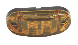47013 – 2 1/2″ Oval LED Clearance Marker Light, Yellow