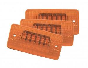 47063-3 – SuperNova® Flush-Mount LED Cab Marker Light, Yellow, Bulk Pack