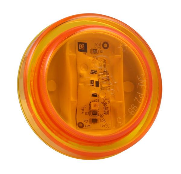 47123-3 – SuperNova® 2 1/2″ LED Clearance Marker Light, Yellow, Bulk Pack