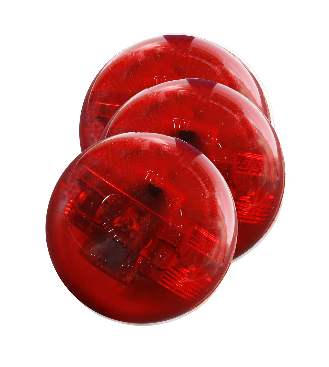 47232-3 – SuperNova® 2 1/2″ PC Rated, LED Clearance Marker Light, Red, Bulk Pack
