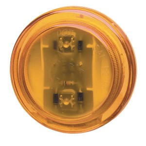 47323 – SuperNova® 2 1/2″ LED Clearance Marker Light, 24V, Yellow