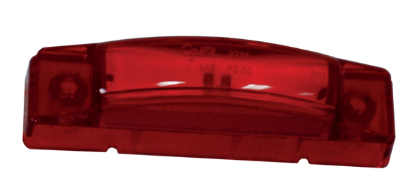 Grote Industries - 47362 – SuperNova® 3″ Thin-Line LED Clearance Marker Light, 24V, Red