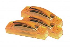 47363-3 – SuperNova® 3″ Thin-Line LED Clearance Marker Light, 24V, Yellow, Bulk Pack