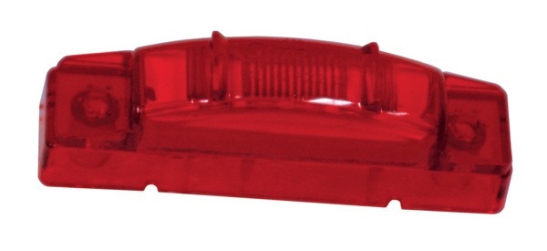 Grote Industries - 47462 – SuperNova® 3″ Thin-Line LED Clearance Marker Light, PC Rated, Red