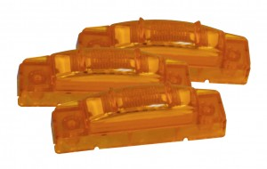 47463-3 – SuperNova® 3″ Thin-Line LED Clearance Marker Light, PC Rated, Yellow, Bulk Pack