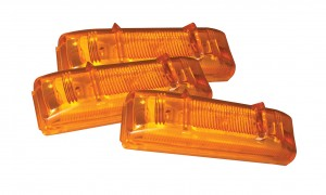 47493-3 – SuperNova® LED Clearance Marker Light, PC Rated, Yellow, Bulk Pack