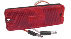 Sealed Rectangular LED Clearance Marker Lights