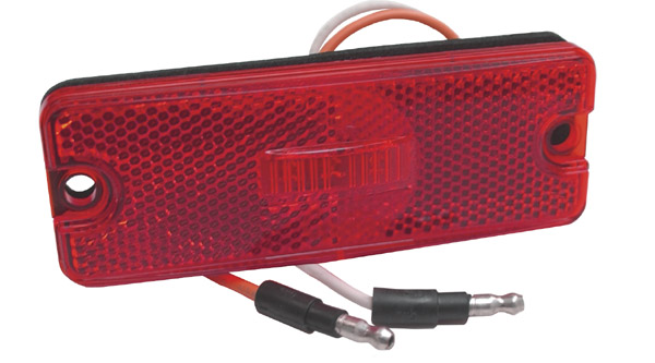 47732 – Sealed Rectangular LED Clearance Marker Light, Red