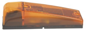 Waterproof Combination Clearance/Marker Lamp with Reflector