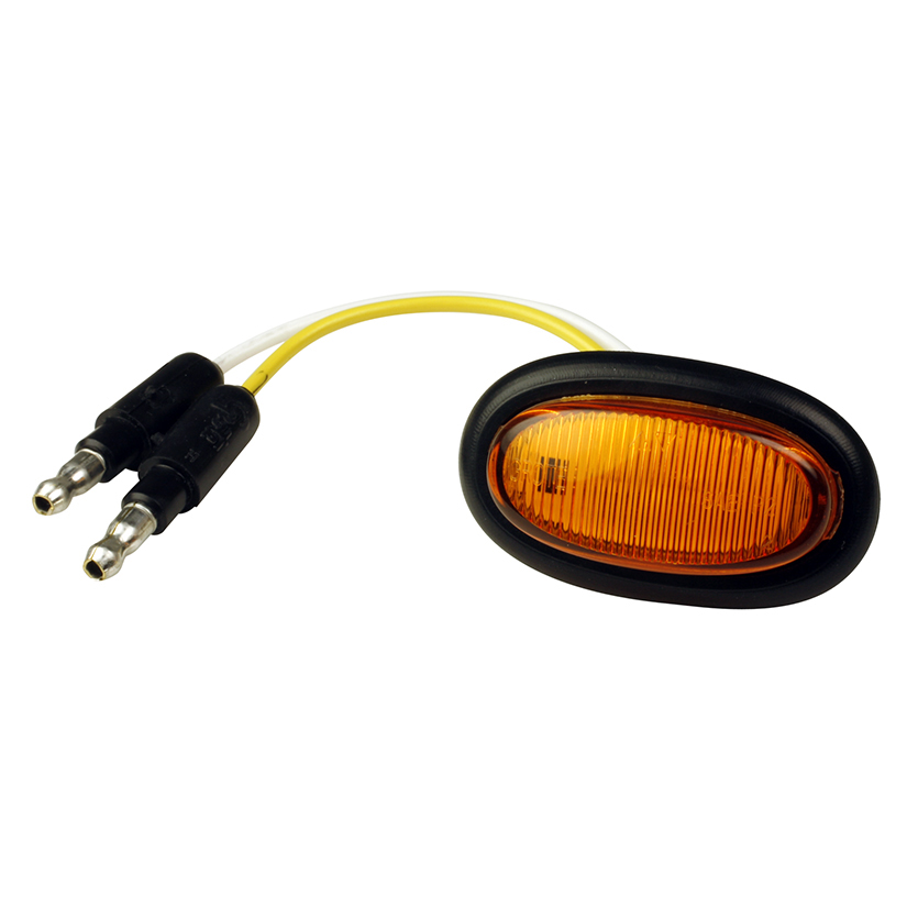 Grote Industries - 47963 – MicroNova® LED Clearance Marker Light, w/ Grommet, Yellow