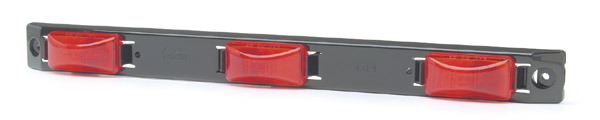 49172 – Bar Light, US15 Plastic Series, Red
