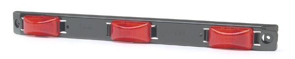 49172 – Bar Light, US15 Plastic Series, Red