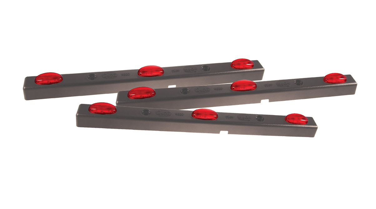 49202-3 – MicroNova® LED Bar Light, Red, Bulk Pack