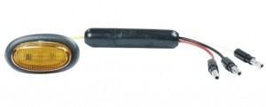 49373 – Dual Intensity MicroNova® LED Clearance Marker Light, Slim-Line .180 w/ Grommet, Yellow
