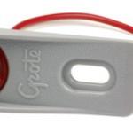 micronova dot led clearance marker light adaptor bracket red