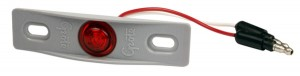 49412 – MicroNova® Dot LED Clearance Marker Light, w/ Adaptor Bracket, PC Rated, Red