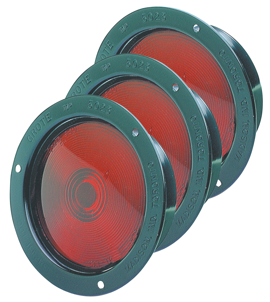 50232-3 – Economy Steel Lights, Double Contact, Red, Bulk Pack
