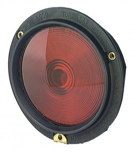 50502 – Rubber Housing Light, Double Contact, Red