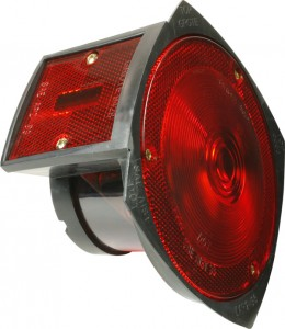 50532 – Trailer Lighting Kit with Side Marker Light, LH Stop Tail Turn Light Replacement, Red