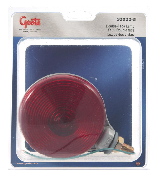 50630-5 – Thin-Line Double-Face Light, Double Contact, Red/Yellow, Retail Pack