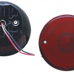 4 universal mount stop tail turn light license window red