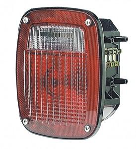 Luz LED de frenado/trasera/direccional Torsion Mount® Navistar® Volvo®, tres varillas roscadas