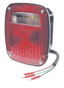 50992 – Torsion Mount® Two-Stud Mack® Dodge® Stop Tail Turn Light, Red