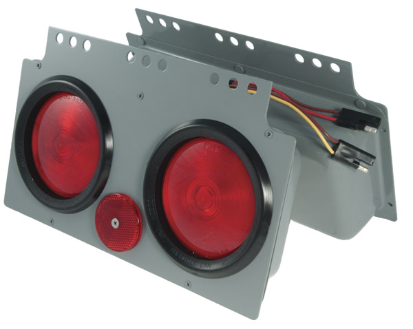 Grote Industries - 51052 – Stop Tail Turn 4″ Light Power Module, Red